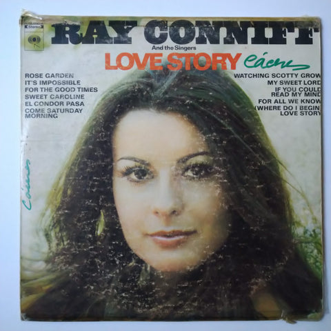 "Ray Conniff And The Singers ‎– Love Story 12"" LP Vinyl Record"