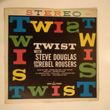 "Steve Douglas And The Rebel Rousers ‎– Twist 12"" LP Vinyl Record"
