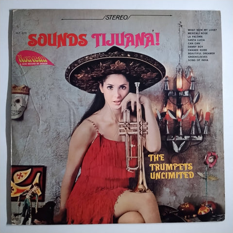 "The Trumpets Unlimited ‎– Sounds Tijuana 12"" LP Vinyl Record"