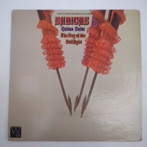 "Sabicas ‎– Guitar Suite / The Day Of The Bullfight 12"" LP Vinyl Record WGM 8174"