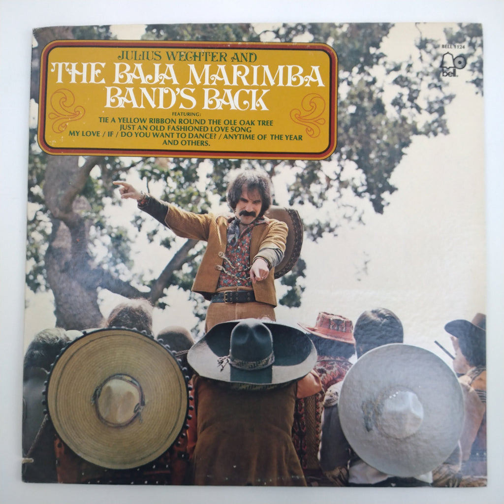 "Julius Wechter And The Baja Marimba Band's Back 12"" LP Vinyl Record"