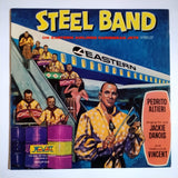 "Pedrito Altieri's Steel Band ‎– On Eastern Airlines Caribbean Jets 12"" LP Vinyl Record MV-LP-112"
