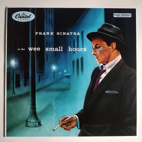 "Frank Sinatra ‎– In The Wee Small Hours 12"" LP Vinyl Record W 581 2014"