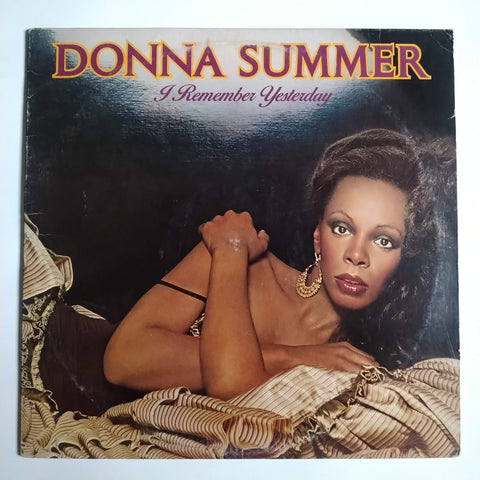 "Donna Summer ‎– I Remember Yesterday 12"" LP Vinyl Record NBLP 7056"