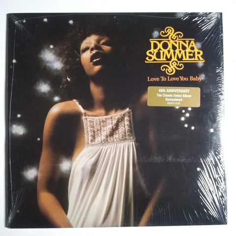 "Donna Summer ‎– Love To Love You Baby 12"" LP Vinyl Record 602547309457 Remastered SEALED"