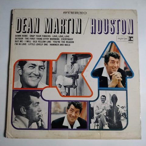 "Dean Martin ‎– Houston 12"" LP Vinyl Record RS-6181"