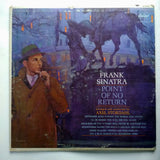 "Frank Sinatra ‎– Point Of No Return 12"" Vinyl Record LP W 1676"