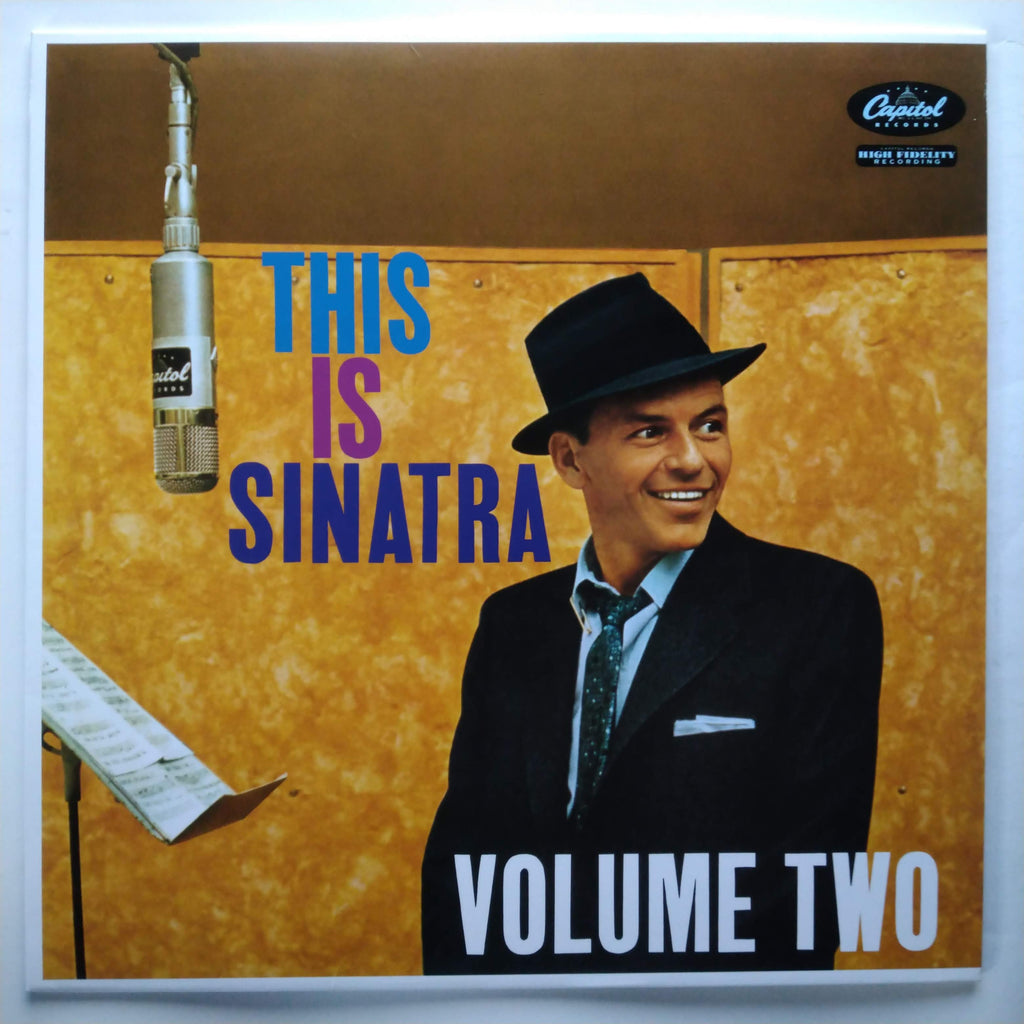 "Frank Sinatra ‎– This Is Sinatra Volume Two Vinyl Record LP 12"" 602547704443"