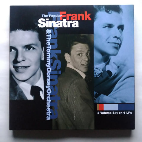 Frank Sinatra And Tommy Dorsey And His Orchestra ‎– The Popular Sinatra Box Set 3 Volume
