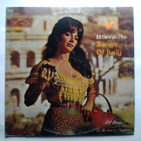 "101 Strings ‎– Songs Of Italy S-5213 12"" Vinyl Record LP"