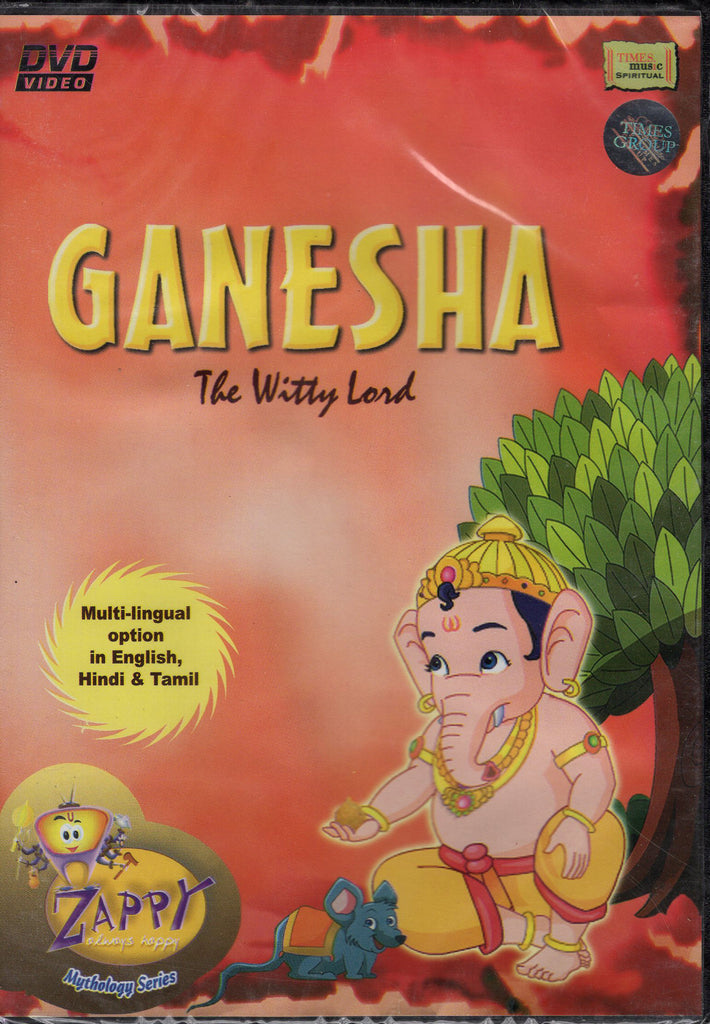 Ganesha - The Witty Lord DVD, Like New