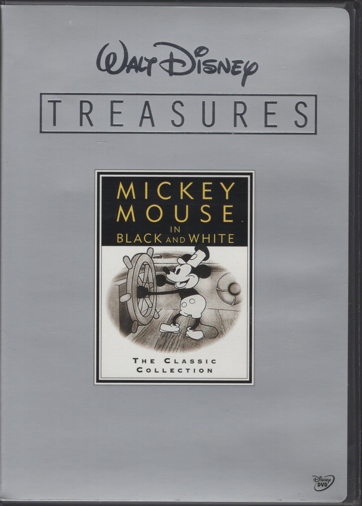 Disney Treasures - Mickey Mouse in Black and White (2-Disc) DVD Like New