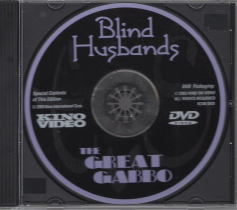Blind Husbands/The Great Gabbo [Deluxe Collector's Edition] DVD