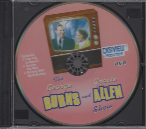 The George Burns and Gracie Allen Show - Volume 2 DVD