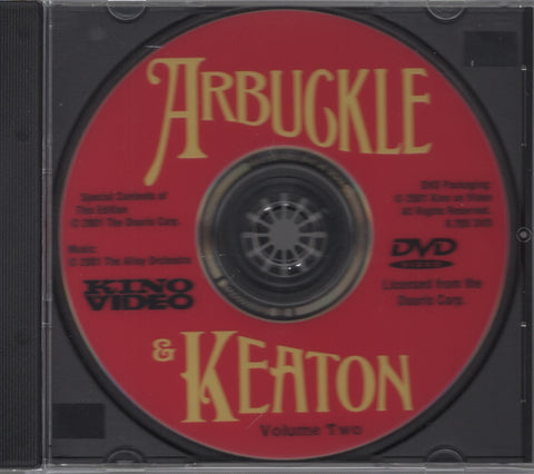 Arbuckle & Keaton: The Original Comique Paramount Shorts Vol. 2 DVD