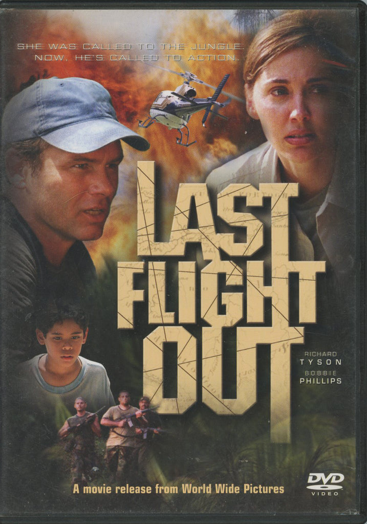 Last Flight Out DVD Good Condition