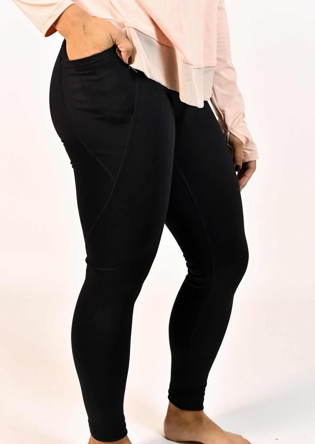 Tapered High Waisted Leggings
