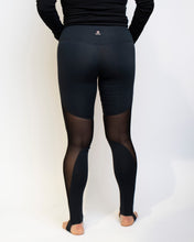 Load image into Gallery viewer, Black Mesh Legging