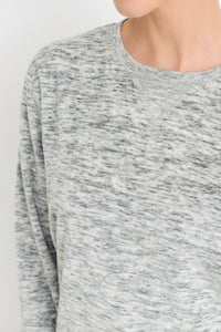 Marle Grey Crew Neck Sweater