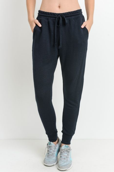 Tapered Drawstring Modal Joggers