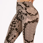 Snakeskin Yoga Pants
