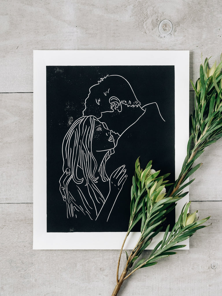 Couple in Love Print