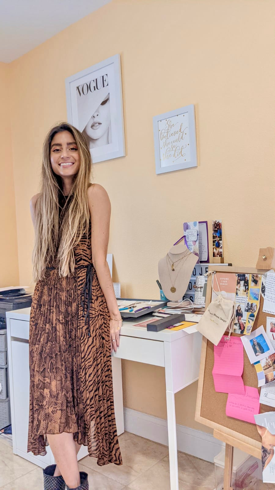 learn more about our female founder and handmade jewelry brand mission