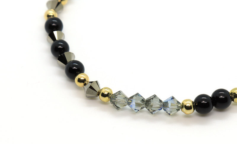 black-diamond-swarovski-crystal-bracelet-for-her-handmade-florida