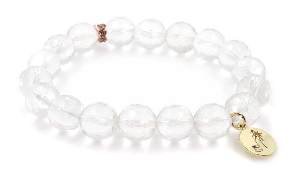 Natural Rock semi-precious stone bracelet for women