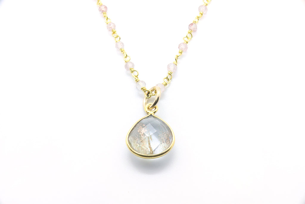 Radiant Quartz Necklace