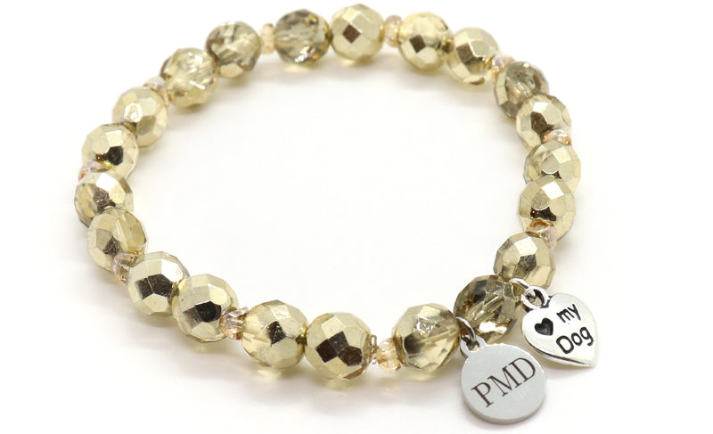 Bold and Beautiful Metallic Gold Bracelet