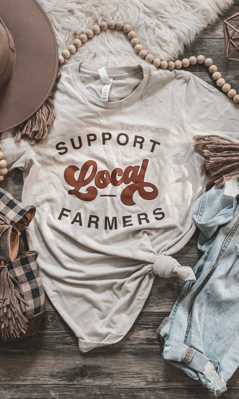 Support Local Farm Tee