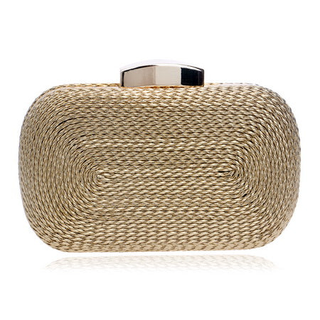 Evening Knitted Style Vintage Clutch Handbag - BuyModest.com
