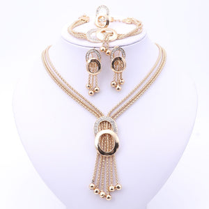 Fine Crystal Full Jewellery Set - BuyModest.com