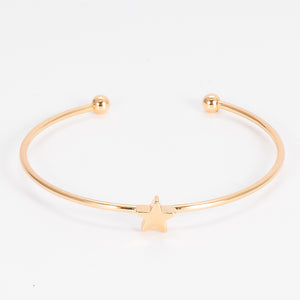 Elegant Star With Moon Rhinestone Bracelet - 4pcs/set - BuyModest.com