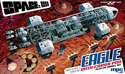 MPC Space 1999 Eagle CARGO POD VERSION