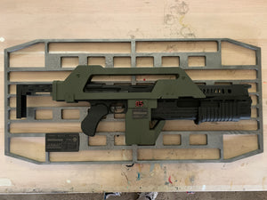 Pulse Rifle Wall Mount