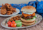Paneer Burger with Indian Slaw