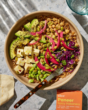 Earth Bowl with Habanero Paneer