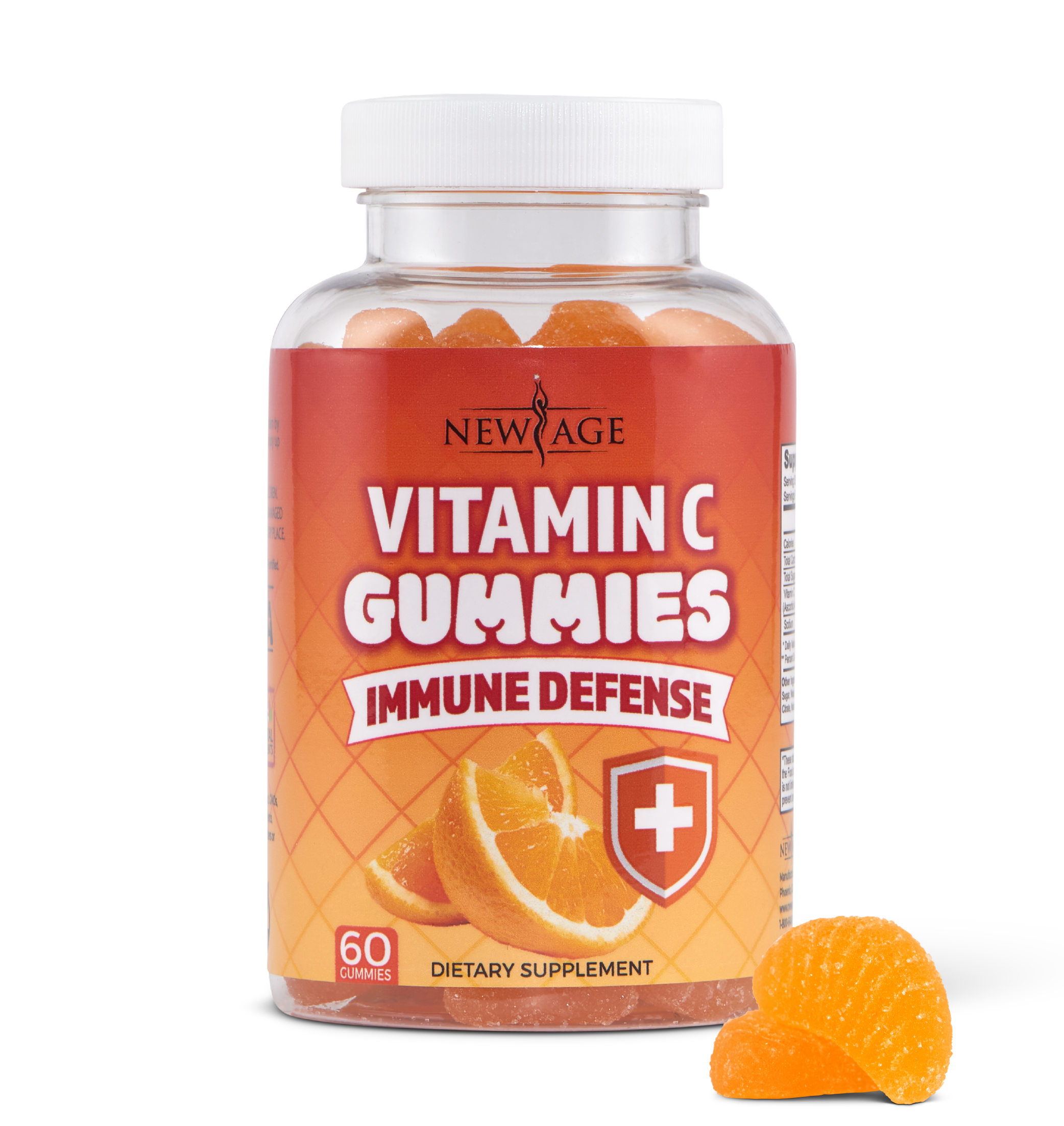 New Age Vitamin C Gummies - One Bottle
