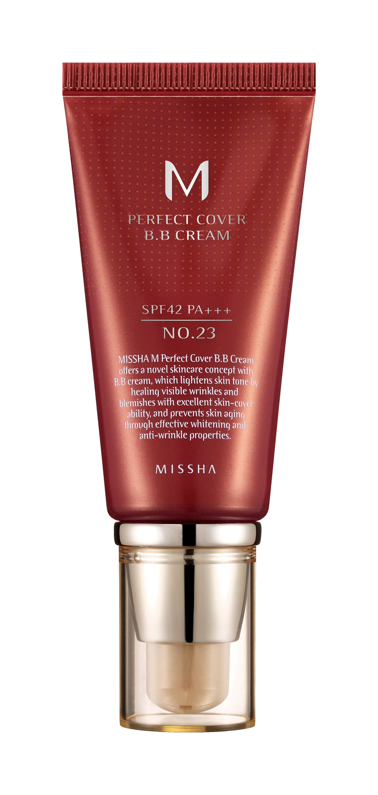 MISSHA, M Perfect Cover BB Cream SPF42/PA+++ (No.23/Natural Beige)
