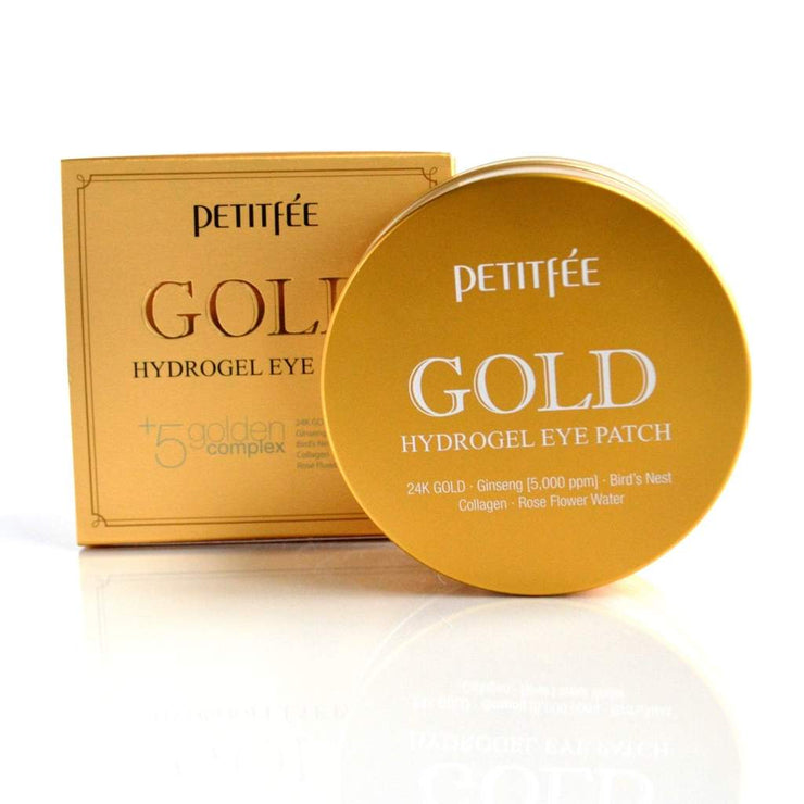 Petitfée, Gold Hydrogel Eye Patch, Øyemaske