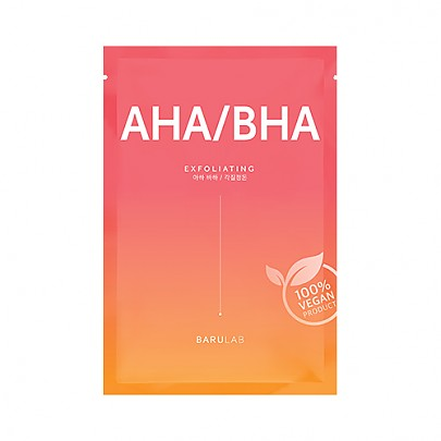 Barulab The Clean Vegan AHA/BHA Mask - Eksfoliering