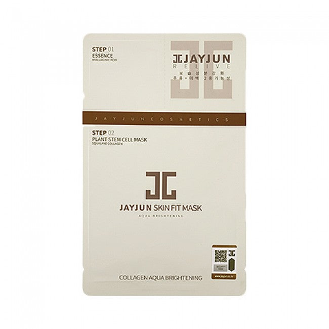 Jayjun, Collagen Skin Fit Mask, Ansiktsmaske