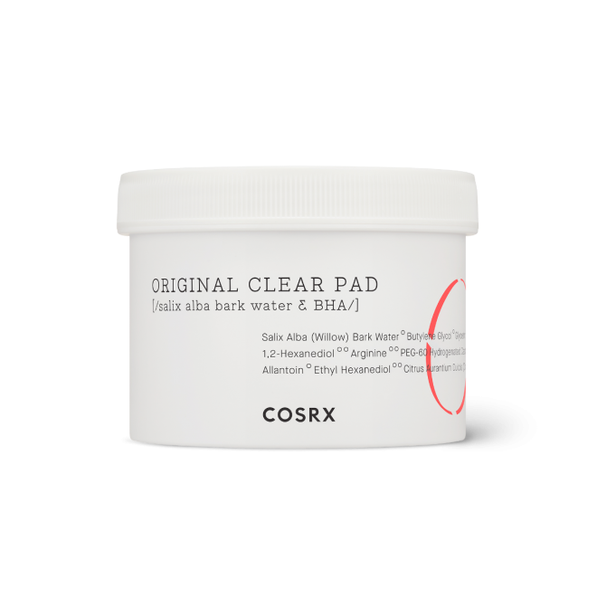 COSRX, One Step Original Clear Pad, Rensende pads