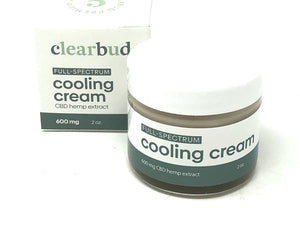Cooling Cream 600mg - 2oz.