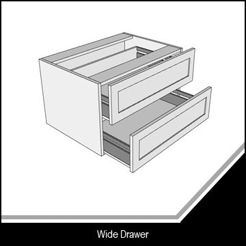 Shaker Wide Drawer