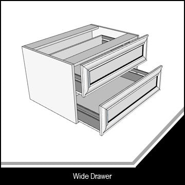 Classic Flat Wide Drawer