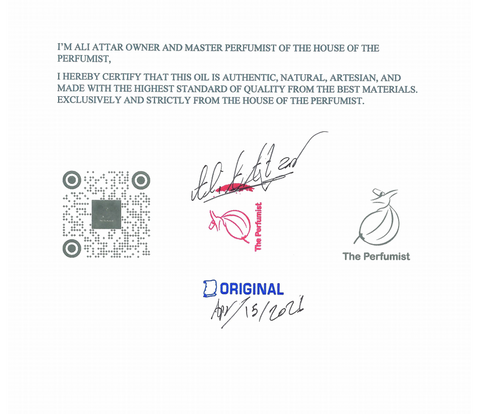 the perfumist certification