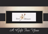 Gratitude Gift Certificate - European Facial $75  or Customized Facial Treatment $85